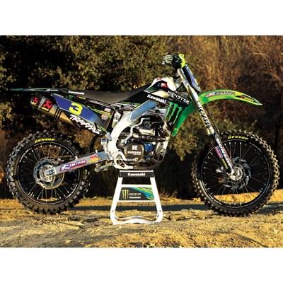 【ポイント5倍開催中!!】2012 Monster Energy (R) KAWASAKI チームグリーン(TM) グラフィックスキット (2012 Monster Energy (R) Kawasaki Team Green (TM) Graphics Kit)