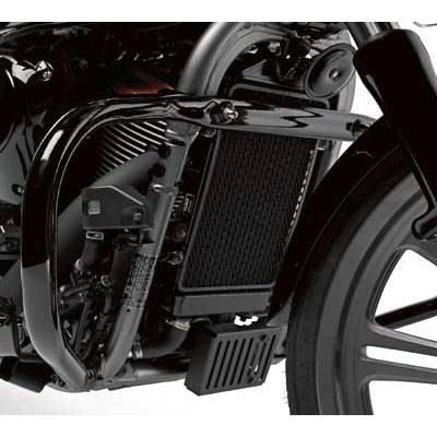 US KAWASAKI 北米カワサキ純正アクセサリー エンジン ガード ブラック (Engine Guard,Black)