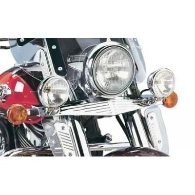 US KAWASAKI 北米カワサキ純正アクセサリー ヘッドライト本体・ライトリム/ケース クラシックビレットライトバー (Classic Billet Light Bar)