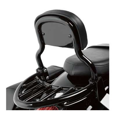 US KAWASAKI 北米カワサキ純正アクセサリー ラッゲージラック ブラック (Luggage Rack, Black)