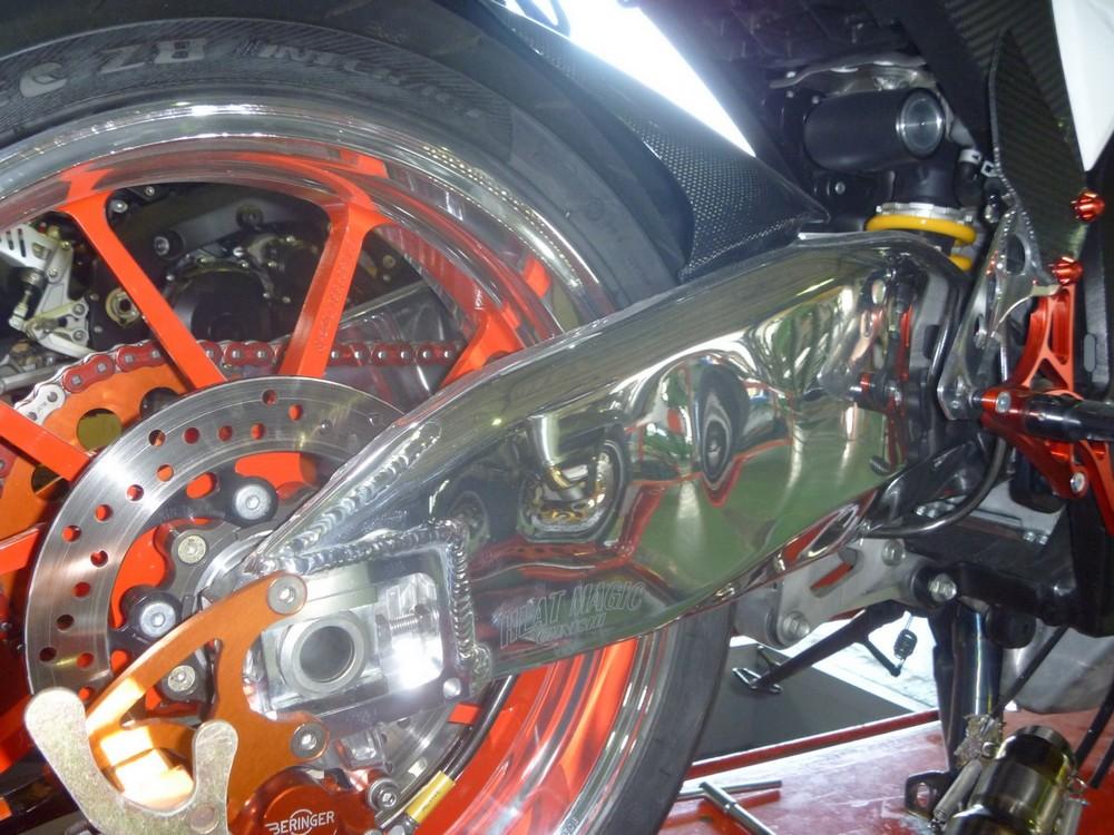オオニシヒートマジック OHNISHI HEAT MAGIC リアフェンダー リヤーフェンダー GSX-R1000 K9
