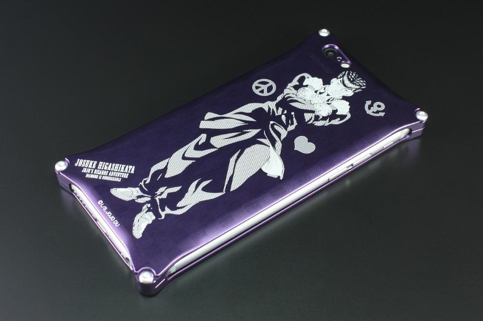 GILD design ギルドデザイン スマートフォンケース 『ジョジョの奇妙な冒険 ダイヤモンドは砕けない』 iPhone6/6sケース タイプ:東方仗助 (パープル)