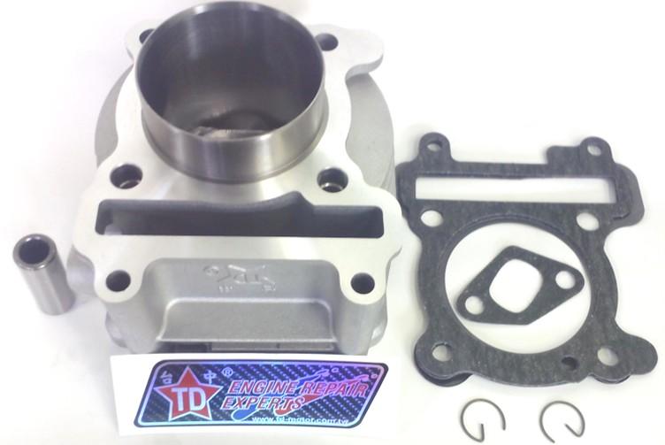 TD その他エンジンパーツ 70mm シリンダー タイプ:222.8cc鍛造ピストン・シリンダー BWS 125 CYGNUS X GTR 125 OZ 125