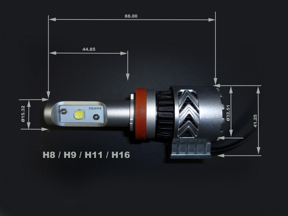 KMA 神奈川オートバイ事業協同組合 各種バルブ LEDヘッドライトバルブ SouthernCross Mark.6 入数:2個 汎用