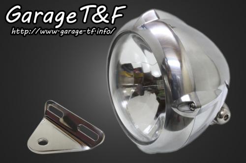 ガレージT&F 5.75インチビンテージライト&ライトステー(タイプA)キット シャドウスラッシャー400
