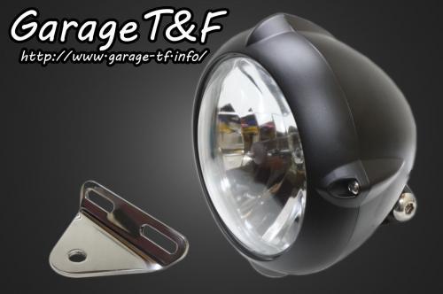 ガレージT&F 5.75インチビンテージライト&ライトステー(タイプA)キット バルカン400 バルカン400II