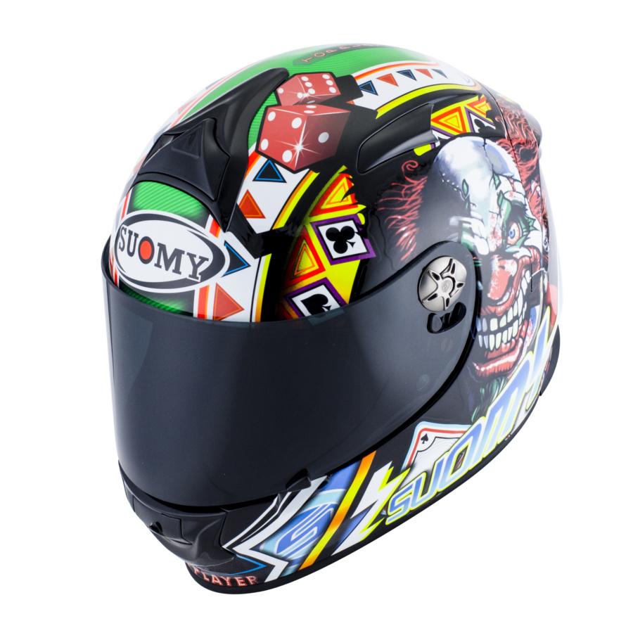 SUOMY スオーミー フルフェイスヘルメット SR-SPORT ギャンブルトッププレイヤー ヘルメット サイズ:M(57-58cm)