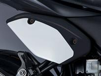 【イベント開催中!】 SUZUKI スズキ フレームカバー カラー:ブラック SV650 ABS SV650X ABS