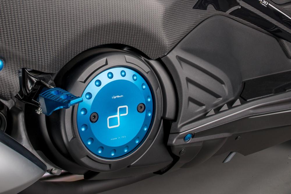 LighTech ライテック その他外装関連パーツ クランクケース カバー カラー:ブルー TMAX500 TMAX530, kousei 63105f95