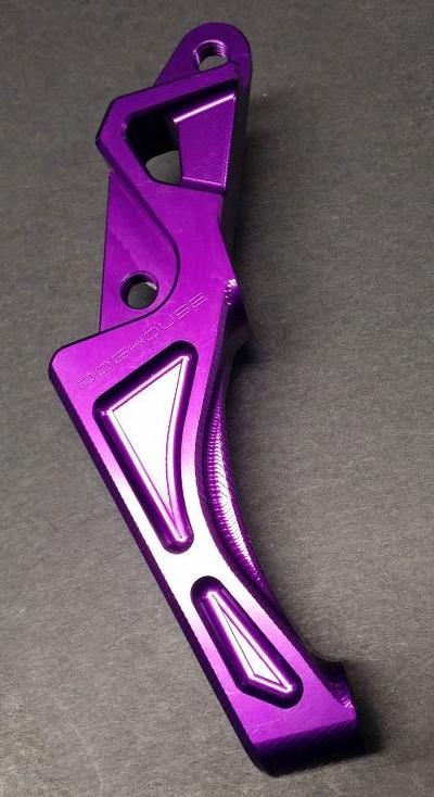 DOGHOUSE ドッグハウス BWS-Rキャリパーサポート for ラジアルマウントキャリパー100mm(245mm disc) カラー:Purple BWS R