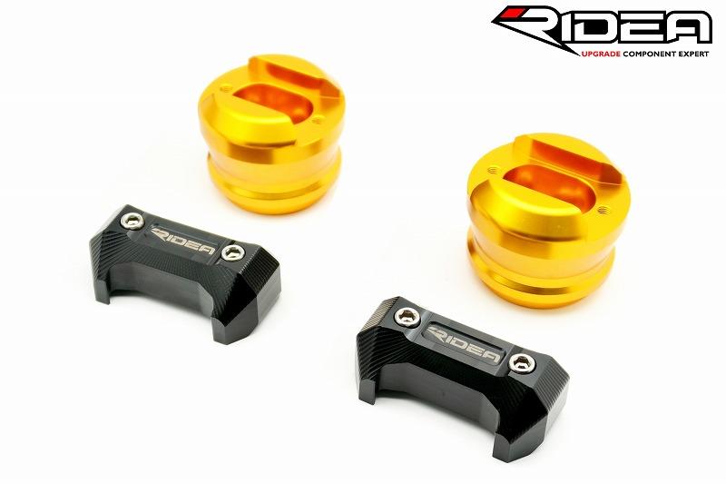 リデア ガード・スライダー RIDEA フレームスライダー スタンダードタイプ カラー:ゴールド S1000R