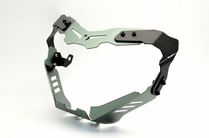 リデア ヘッドライト本体・ライトリム/ケース RIDEA ヘッドライトカバー カラー:チタン MT-09