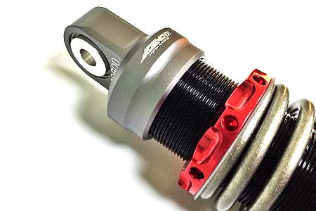 JOSHO1 HYPER RACING ジョウショウ1 ハイパーレーシング リアサスペンション J2SPプロ サスペンション カラー:レッド CYGNUS X 4型 15-