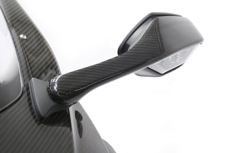 NEXRAY CARBON DRY ネクスレイカーボンドライ ミラーカバー YZF-R1 YZF-R1 M YZF-R1 ABS
