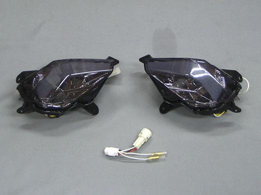 M-SOUL(ムサシ) エムソウル ウインカー LEVEL10 LED リアウィンカー レンズカラー:スモーク TMAX 530 15 SJ12J TMAX 530 15 逆輸入車 SJ0092 TMAX 530 15 逆輸入車 SJ091