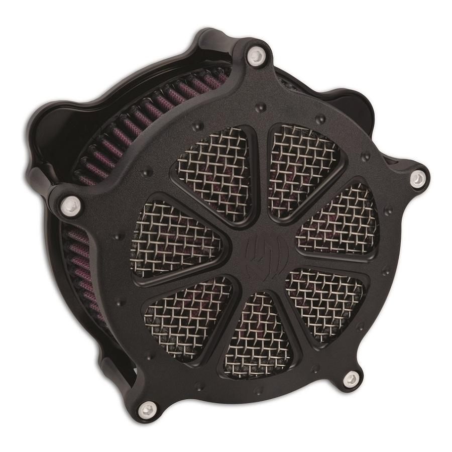 RSD Roland Sands Design ローランドサンズ エアクリーナー・エアエレメント エアクリーナー Venturi Speed 7 仕上り:ブラックOPS XL w| CV CARB|DELPHI EFI 91-