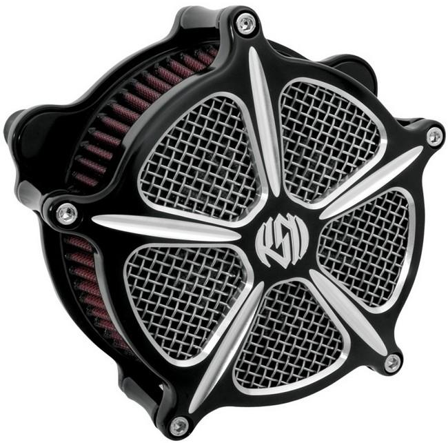 RSD Roland Sands Design ローランドサンズ エアクリーナー Venturi Speed 5 BIGTWIN [ビッグツイン] S&S E|G キャブ用 93-12
