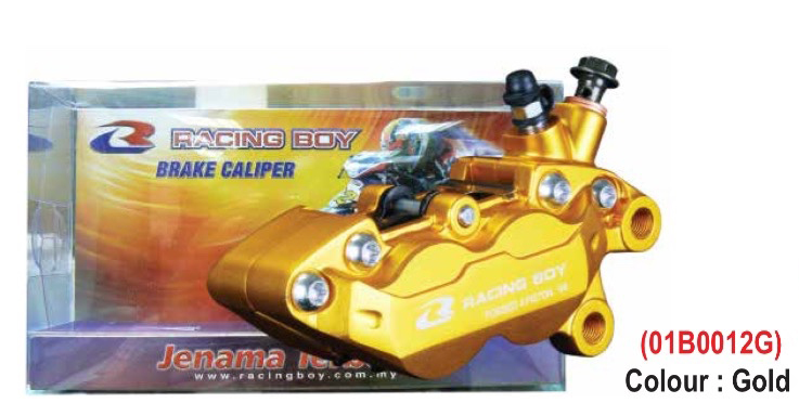 RACINGBOY レーシングボーイ RCB RB BRAKE CALIPER(ブレーキキャリパー) 4 Piston V4 (CALIPER 4P-V4) カラー:Gold