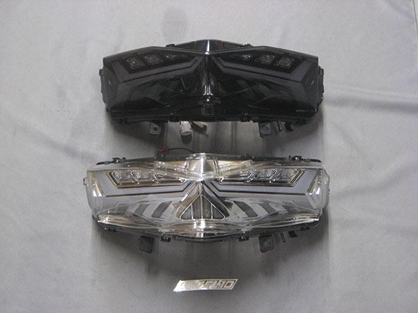 M-SOUL(ムサシ) エムソウル テールランプ LEVEL10 LEDテールレンズ(流れるウインカー) レンズカラー:クリア シグナスX SR (SEA5J) 16-