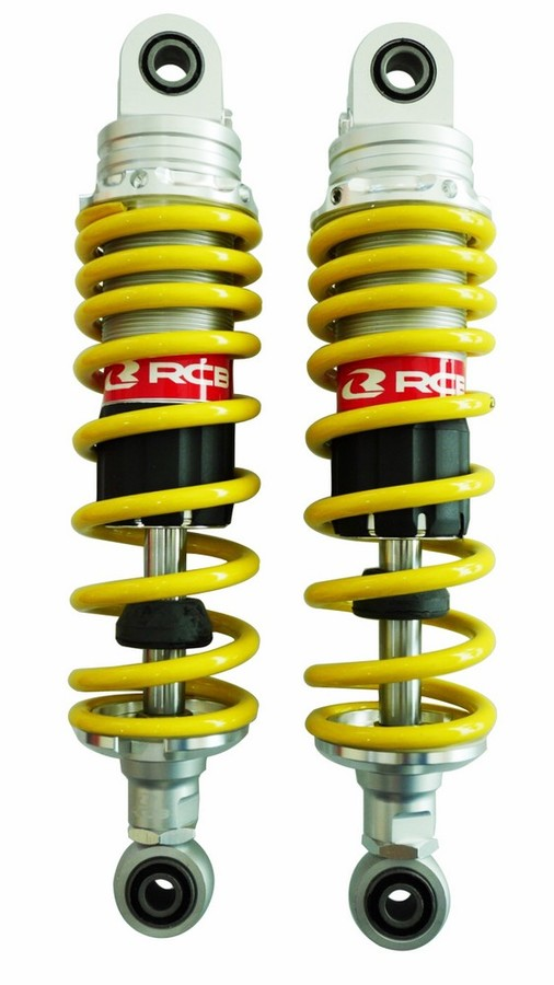 RACINGBOY レーシングボーイ RCB リアサスペンション RB ABSORBER(アブソーバー) E-SERIES 275 mm カラー:Yellow