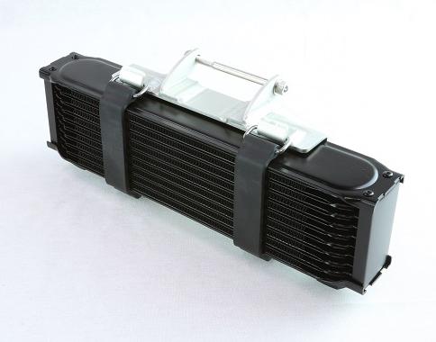 スピードショップイトウSPEEDSHOPITOオイルクーラー本体GPz750用9インチオイルクーラーキットカラー:シルバー(コア)/シルバー(ステー)タイプ:13段GPZ750