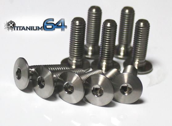 TITANIUM64 チタニウム64 フロントローターボルト HP2 SPORT