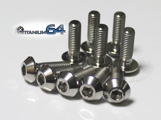 TITANIUM64 チタニウム64 フロントローターボルト T-MAX530