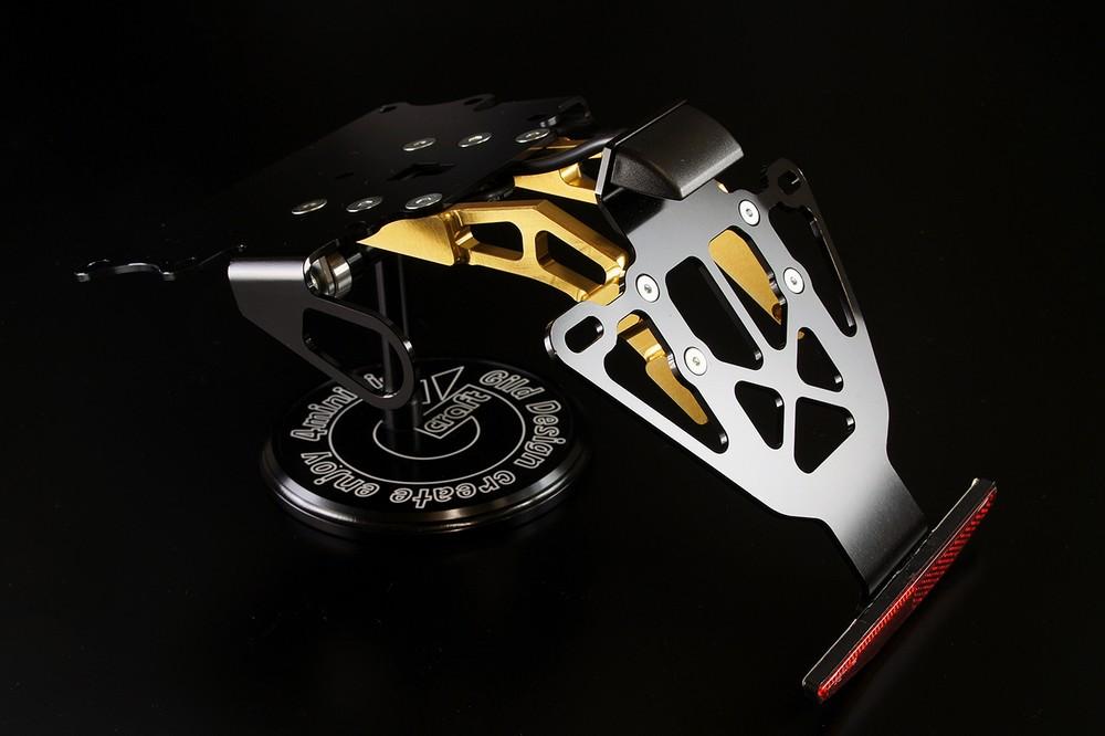 GILD design ギルドデザイン フェンダーレスキット カラー:ゴールド ZRX1200DAEG