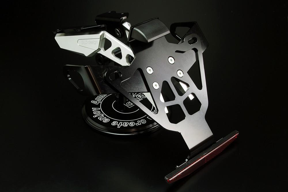 GILD design ギルドデザイン フェンダーレスキット カラー:シルバー MT-09