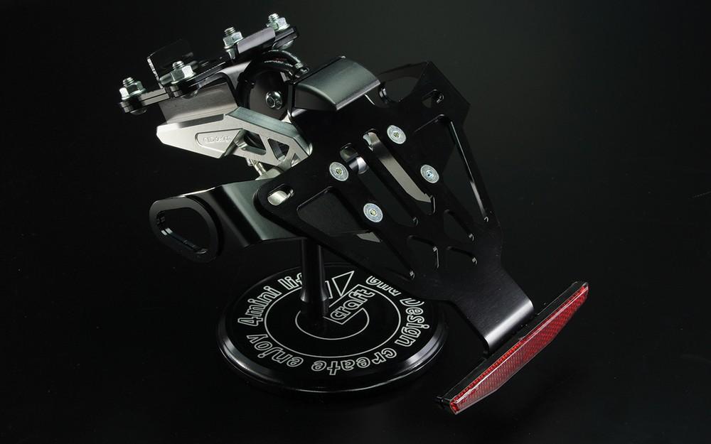 GILD design ギルドデザイン フェンダーレスキット カラー:ブラック MT-07