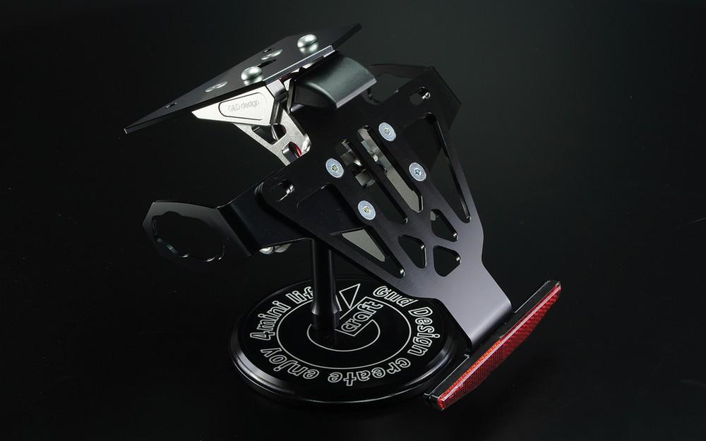 GILD design ギルドデザイン フェンダーレスキット カラー:ブラック Ninja250 13-