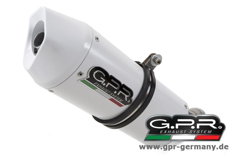 GPR ALBUS CERAMIC 【アルバス セラミック】 (Ducati Multistrada 1200 2010-14 2 IN 1 CENTRAL PLANT COMPLETE EXHAUST WITH KAT) フルエキゾーストマフラー