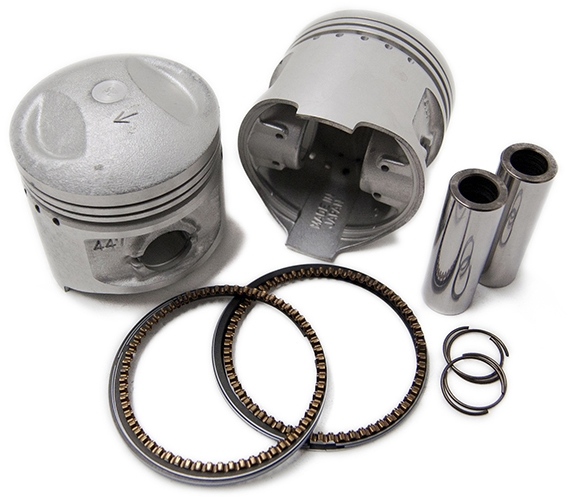 Motor Rock モーターロック ピストン・ピストン周辺パーツ オーバーサイズピストン/リングキット XS650SP/TX650 (73-84)