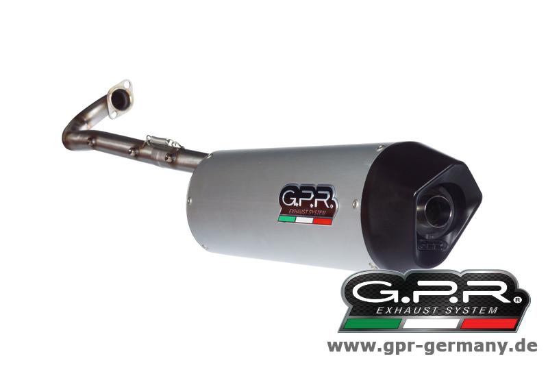 ジーピーアールGPRFUROREALUOVAL(GILERARUNNERVX1252005-06COMPLETESYSTEMEXHAUSTWITHKAT)フルエキゾーストマフラー