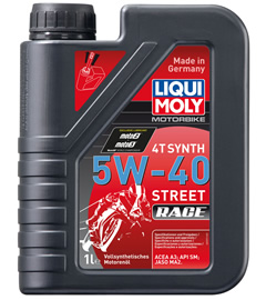 LIQUI MOLY リキモリ 4サイクルオイル ストリートレース 4T Synth 5W-40 Street Race
