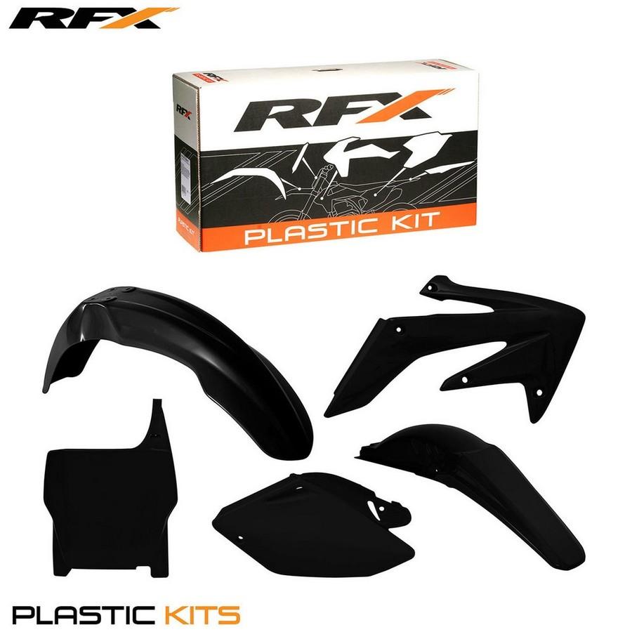 RaceFX レースエフエックス フルカウル・セット外装 RFX プラスチックキット【RFX Plastic Kit】 カラー:Black CRF250R 04-05