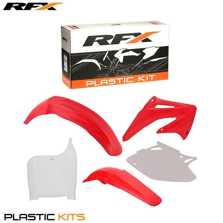 RaceFX レースエフエックス フルカウル・セット外装 RFX プラスチックキット【RFX Plastic Kit】 カラー:White CRF450 02-03