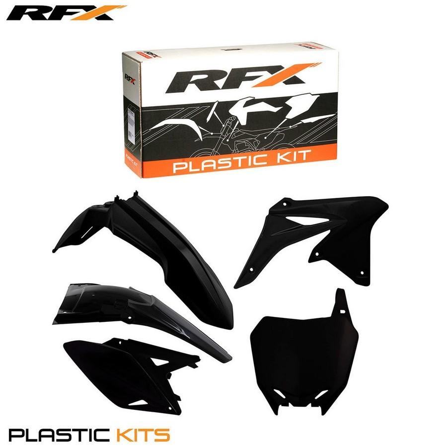 RaceFX レースエフエックス フルカウル・セット外装 RFX 外装キット【RFX Plastic Kit】 カラー:Black RMZ250 10-16
