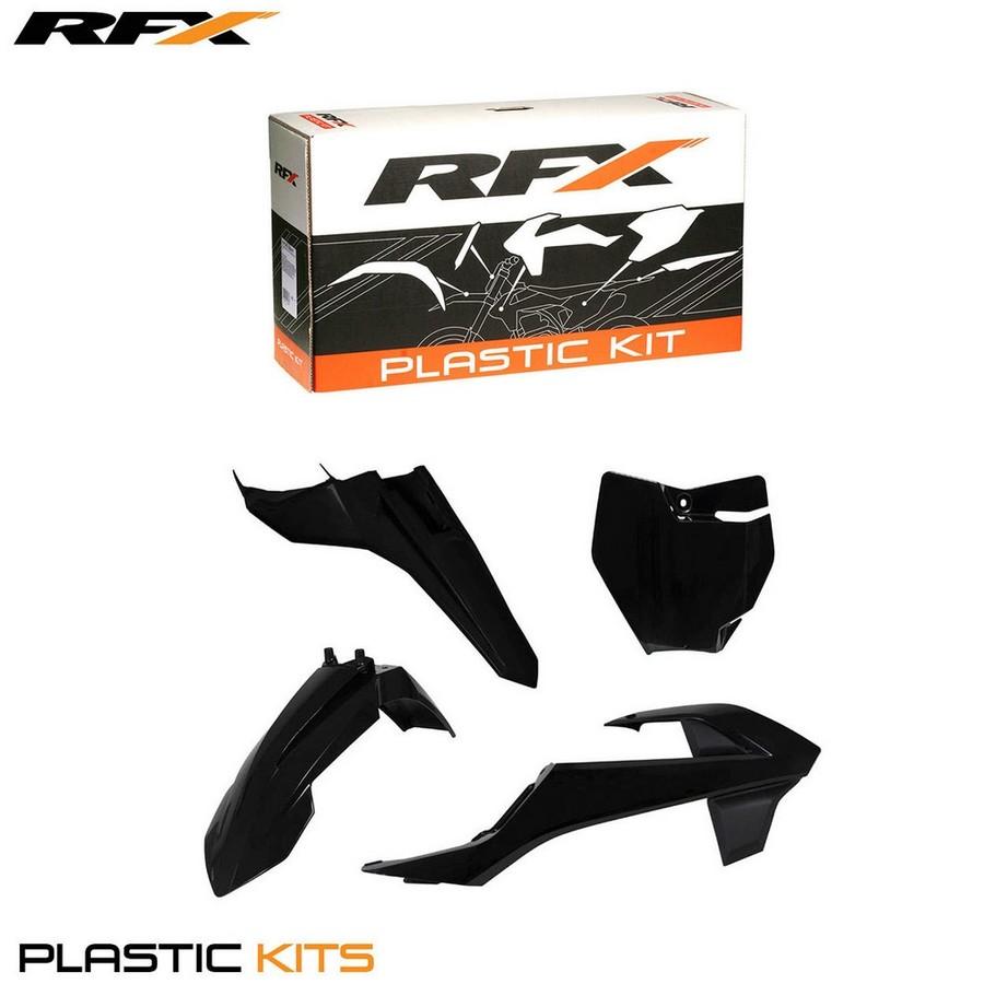 RaceFX レースエフエックス フルカウル・セット外装 RFX プラスチックキット【RFX Plastic Kit】 カラー:Black SX65 16On