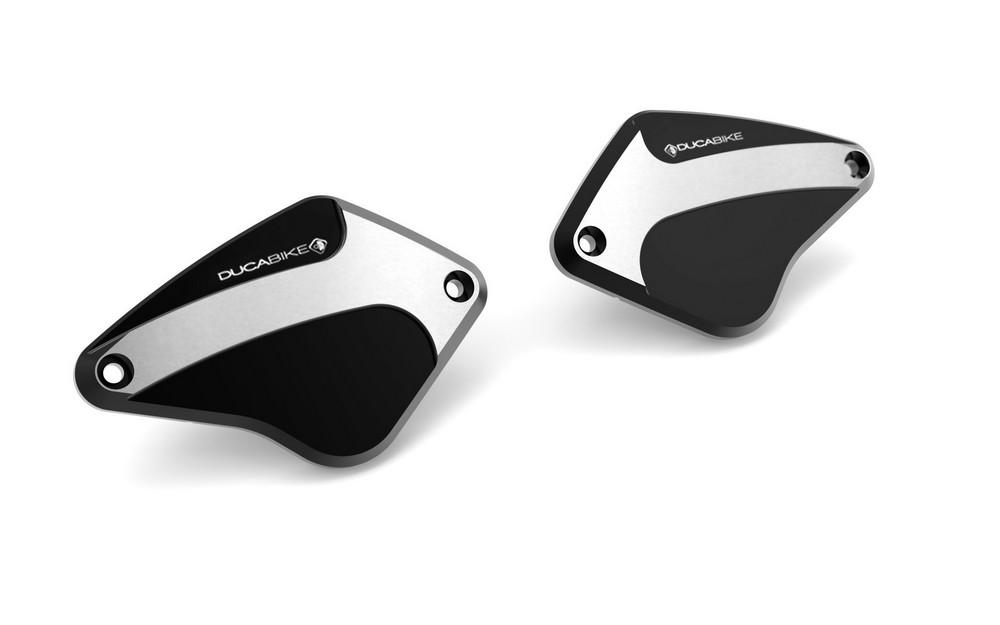 【イベント開催中!】 DUCABIKE ドゥカバイク マスターシリンダー リザーバータンクフロントキャップ NEWバージョン カラー:ブラック DIAVEL DIAVEL CARBON XDIAVEL