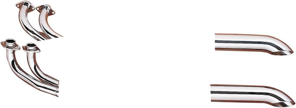 MAC マック フルエキゾーストマフラー 4-2 ターンダウン システム クローム GL1000 76-9 【4-2 TD SYS CH GL1000 76-9 [001-1718]】