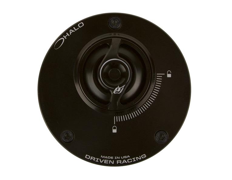 DRIVEN ドリブン タンクキャップ D-Axis HALO フュエルキャップ カラー:ブラック 848