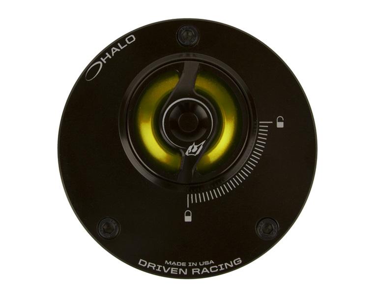 DRIVEN ドリブン タンクキャップ D-Axis HALO フュエルキャップ カラー:ゴールド Street Triple 675 10-15