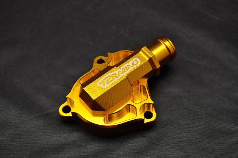 T2 Racing T2レーシング その他外装関連パーツ デストラ ウォーターポンプカバー カラー:ゴールド NSR250R MC21/MC28