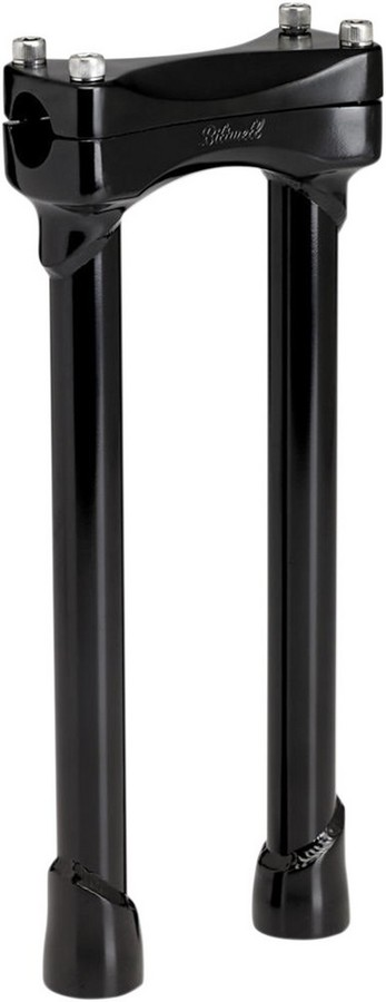 """BILTWELL ビルトウェル ハンドルポスト ライザーマードック12"""" ブラック 【RISERS MURDOCK 12""""BLK [0602-0763]】"""
