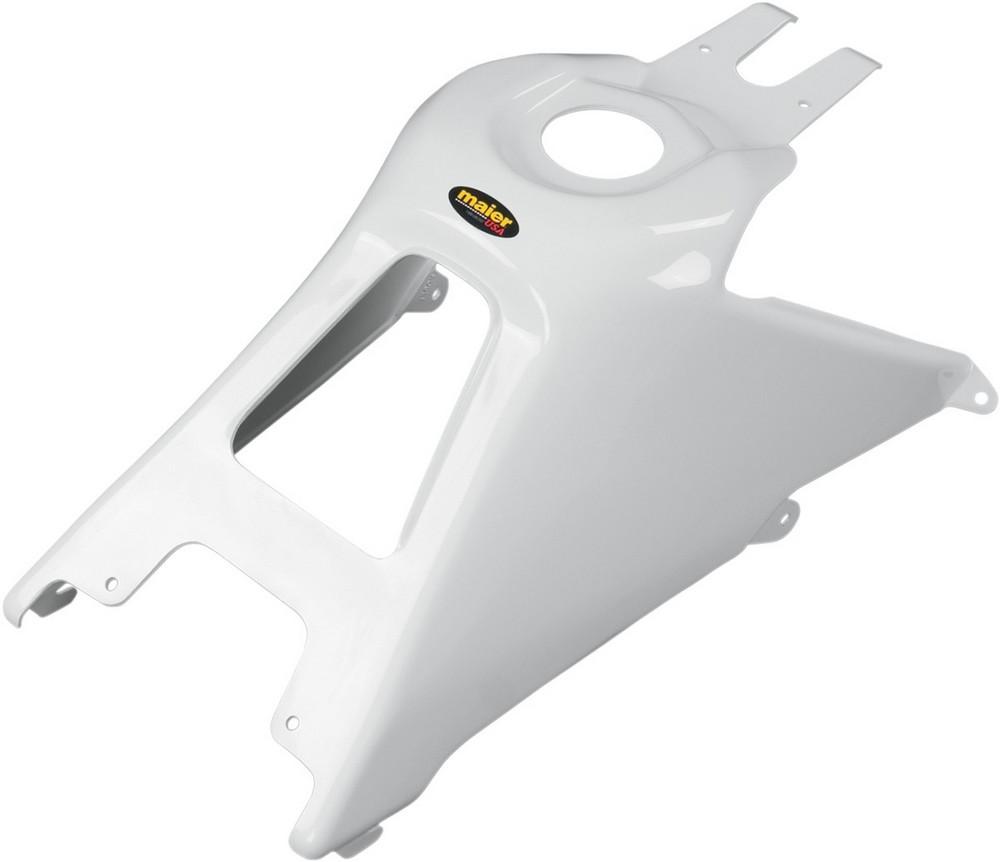 【イベント開催中!】 MAIER メイヤー フューエルタンクカバー ホワイト LTR450用【GAS TANK COVER LTR450 WH [0701-0330]】 LT-R450 Quad Racer 2006 - 2009
