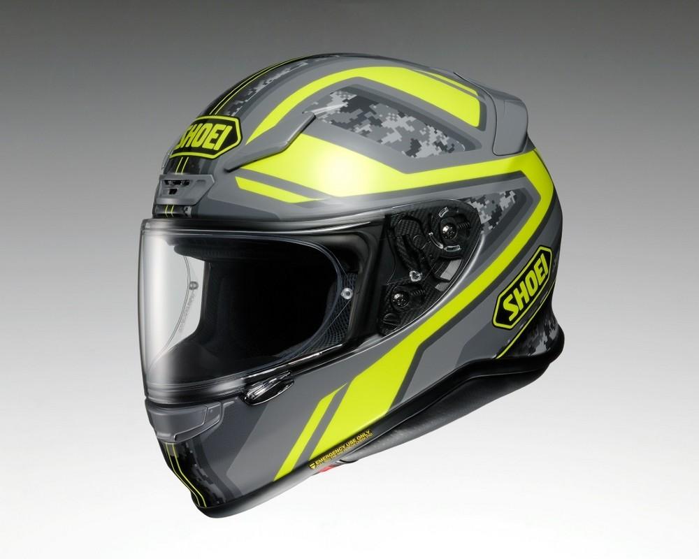 【イベント開催中!】 SHOEI ショウエイ フルフェイスヘルメット Z-7 PARAMETER [ゼット-セブン パラメーター TC-3 YELLOW/GREY] ヘルメット サイズ:L (59-60cm)