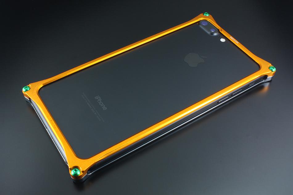 GILD design ギルドデザイン その他グッズ Solid Bumper for iPhone7Plus (EVANGELION Limited) タイプ:EVANGELION PROTO TYPE-00 MODEL(ゴールド・グレー