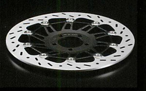 ERA エーラ フロント ディスクローター カラー:ブラック サイズ:Φ320 使用箇所:右側 ZRX1200