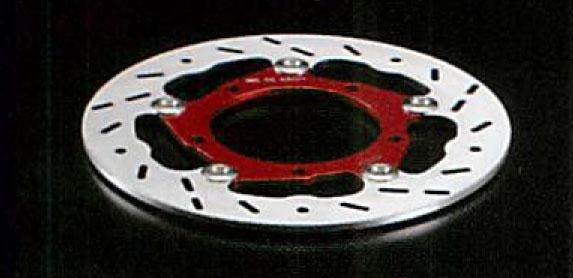 ERA エーラ リア ディスクローター カラー:レッド ZRX1200